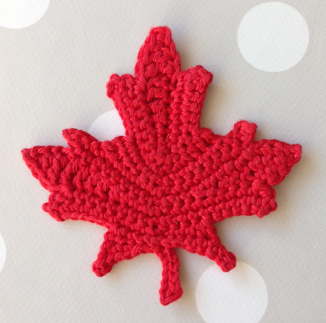 Knit Maple Leaf Pattern Free : Thing 200 365 By 3